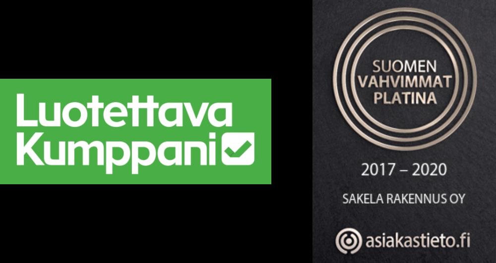 Sakela Rakennus Oy - Luotettava kumppani ja Suomen vahvimmat